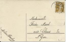 123 II, Fils De Tell Sur Carte De Voeux, Obl. Lonay 26.XII.12 - Suisse