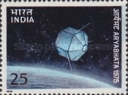 USED STAMPS India - Launch Of First Indian Satellite -  1975 - India