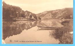 Publicité-Touring Club De Belgique-+/-1930-Yvoir-La Meuse Et Les Rochers De Fidevoye - Publicité