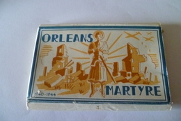 -- 24 MINI CARTES------ (ORLEANS--MARTYRE ) -- - Cartes Postales