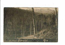 Cpa Carte Photo Au VIEIL ARMAND Hartmannsweilerkopf  SB S 14 - Oorlog 1914-18