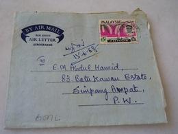 (SSBS) Buy It Now Malaysia Malaya Penang Cover Air Mail 11/06/1968 - Malaysia (1964-...)