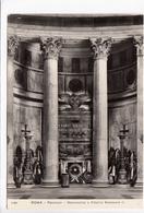 ROMA, Pantheon, Monumento A Vittorio Emanuele II, Real Photo, Vera Fotografia Postcard [22864] - Pantheon