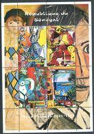 245 SENEGAL 1999 - Yvert 1574/77 - Peinture Tableau Picasso - Neuf ** (MNH) Sans Charniere - Sénégal (1960-...)