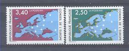 Año 1991 Nº 106/7 Consejo De Europa - Servicio