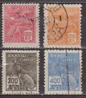 Allégories - BRESIL - Aviation - Commerce, Hermès - 1920 - Brésil