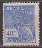 Allégories - BRESIL - Commerce, Hermès - N° 176 - 1920 - Brésil