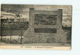 LAFFREY - Le Monument De Napoléon 1er -  2 Scans - Laffrey