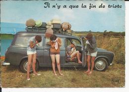 10x15     Vacances   Il N'y A Que La Fin Qui Est Triste - Autres