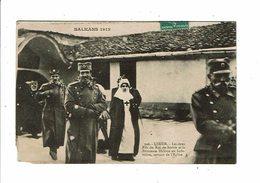 Cpa  BALKANS 1912 Guerre USKUB Fils Roi De Serbie Princesse Hélène Infirmière 306 Secours Aux Blessés Croix Rouge - Guerres - Autres