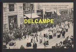 DD / 45 LOIRET / ORLÉANS / FÊTES DE LA JEANNE D' ARC  --  LA PROCESSION - LES ÉVÊQUES - Orleans