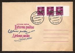 LITHUANIA / LITAUEN 1993 Definitive Horseman / Reiter FDC /Mi 522 - Lithuania
