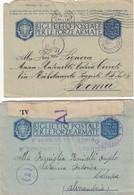 9183-N°. 17 PEZZI POSTA MILITARE 2° GUERRA - 1900-44 Vittorio Emanuele III