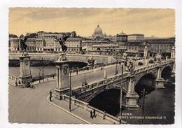 ROMA, PONTE  EMANUELE II, Bridge Of Victor Emmanuel II, Unused Postcard [22865] - Bridges