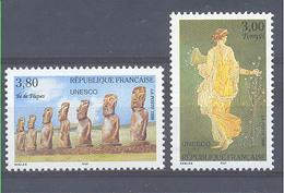 Año 1998 Nº 118/9 UNESCO Patrimonio Universal - Servicio