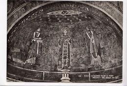 ROMA, S. AGNESE FUORI LE MURA, MOSAICO DELL'ABSIDE, Unused Vera Fotografia Postcard [22866] - Churches