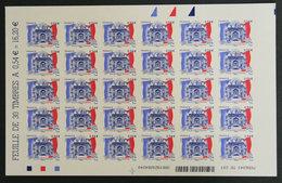 FRANCE - 2007 - ADH 117** - COUR DES COMPTES - ADHESIF - Feuilles Complètes