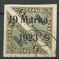 Estonia Estland 1923 Michel 43 B O - Estonie