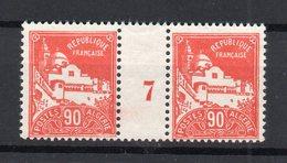 !!! PRIX FIXE : ALGERIE, PAIRE DU N°81 AVEC MILLESIME 7 NEUVE ** - Algeria (1924-1962)