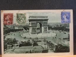 82/892   CP DE PARIS POUR ALLEMAGNE  1933 - 1906-38 Semeuse Camée