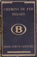 1950 Guide Officiel Des Voyageurs Chemins De Fer Belges Belgique Indicateur Annuaire Train Tram Tramways - Chemin De Fer