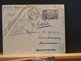82/897   LETTRE POUR ALLEMAGNE 1938 1° VOL - Erst- U. Sonderflugbriefe