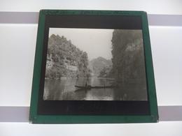 WHANGANUI RIVER   North Island Of New Zealand   Plaque De Verre GLASS SLIDE CIRCA EARLY 1900 - Diapositivas De Vidrio