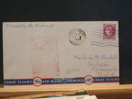 82/899   LETTRE POUR USA   1939 1° VOL - Poste Aérienne