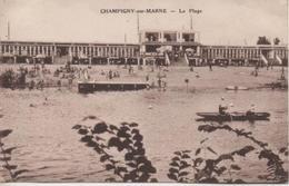 CHAMPIGNY SUR MARNE  LA PLAGE - Champigny Sur Marne