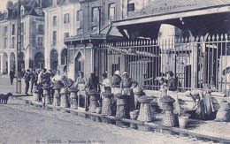 DIEPPE        MARCHANDE DE MOULES - Dieppe