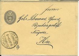 16, 2 Cts, Bande De Journal, Obl. St-Gallen 15.XI.99 - Entiers Postaux