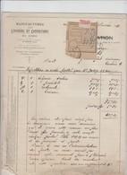 MANUFACTURES DES LINGERIES ET CONFECTIONS DU NORD   -  MANULINGE - WALINCOURT - LILLE 1936 - Ambachten