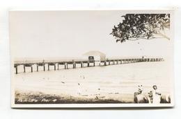 Redcliffe, Near Brisbane, Queensland - The Pier - Old Australia Real Photo Postcard - Brisbane