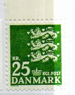 PIA - DANIMARCA -1997 : Uso Corrente - Stemma Con Tre Leoni Rampanti - Danimarca