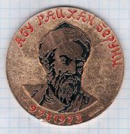 Iran Uzbekistan Persia, Abu Rayhan Muhammad Ibn Ahmad Al-Biruni, Islam Muslim, Made In Russia - Jetons & Médailles