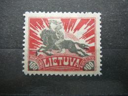 Horses # Lietuva Lithuania Litauen Lituanie Litouwen # 1921 MH # Mi. 101 - Lituanie