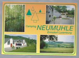 LU.- ERMSDORF LUXEMBURG. Camping NEUMUHLE. - Reclame