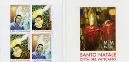 Vatican - 2018 - Christmas - Mint Stamp Booklet - Vatican