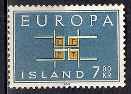 Iceland 1963 - EUROPA Stamps - 1944-... Republik