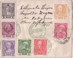 Austria - Poland Krakow Leter, Cancelations Of The Esperanto Congress 1912, Stamps Mi 139 - 145, W1033 - Covers & Documents