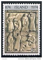 Iceland 1974 - Settlement In Iceland - Gebraucht