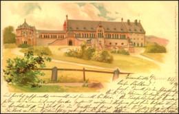GOSLAR 1898, Gelaufen, Künstler-Postkarte, Verlag Julius Neumann, Magdeburg, - Deutschland