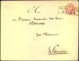 BRANDENBURG A/H, Preussen Umschlag Großformat - Deutschland