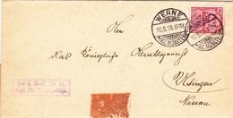 Werne / Usingen; Briefumschlag Von 1903 - Documents Historiques