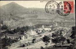 Cp Bort Corrèze, La Gare, Chemin De Fer - Autres Communes