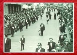 PS54---CALTAN. ---MERCOLEDI' SANTO--LA REAL MAESTRANZA--CARTOLINA NON VIAGGIATA - Caltanissetta