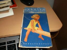 Erholung In Karnten Osterreich  Landesprospekt - Dépliants Turistici