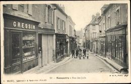 Cp Sancerre Cher, Rue Des Juifs - Frankrijk
