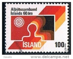 Iceland 1976 - The 60th Anniversary Of The Icelandic Federation Of Labour - 1944-... Republik