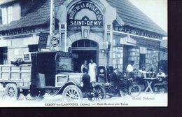 Cerny En Laonnois Cafe Tabac La Boule D'or - Autres Communes